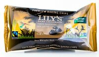 Lily's Dark Chocolate Chips 9 oz Bag, Stevia Sweetened, Sugar Free (2 Pack)