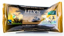 Lily's Dark Chocolate Chips, Stevia Sweetened, Sugar Free, 9oz bag
