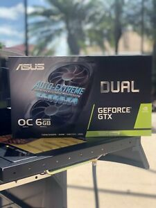 ASUS GeForce GTX 1660 SUPER OC 6GB GDDR6 DUAL-GTX1660S-O6G-EVO GPU Video Card