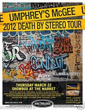 Umphrey'S McGee 2012 Seattle Concert Tour Poster -Progressive Rock