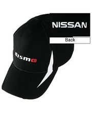 OFFICIALLY LICENSED NISSAN NISMO PERFORMANCE CAP HAT BLACK/WHITE