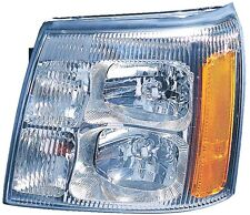 Headlight Assembly Left/Driver Side Fits 2003-2006 Cadillac Escalade/EXT HID