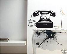 00074 Wall Sticker Design Adesivi Murali Telefono Old Style