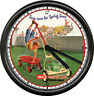 Reo Lawnmower Landscaping Gardener Yard Work Sales Advertising Sign Wall Clock
