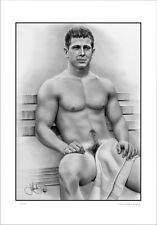 NUDE  MALE  STUDY       GAY  INTEREST          LIMITED EDITION
