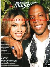 BEYONCE & JAY-Z Dannii Minogue Sunday Times Mag (9 August 2009)
