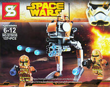 Lego Compatible Star Wars: Clone Walker Battle Pack!
