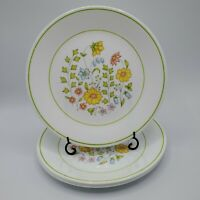 "Set of 4 Corelle Spring Meadow Luncheon Plates 8.5"" NICE"