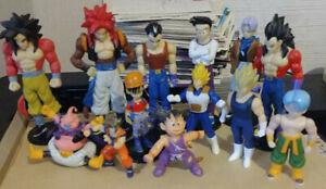 Lot figurines Dragon Ball Z GT DBZ figure set rare