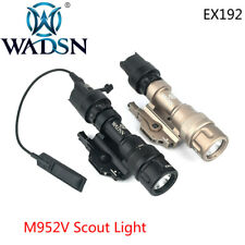 WADSN Airsoft M952V Tactical Scout Light Strobe Light Hunting Flashlight Torch