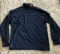 Vintage Men's XL 1996 NFL on Fox Chicago Bears Turtleneck Sweatshirt Made in USA