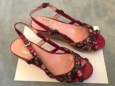 365 SINELA Damen Sandaletten mit Plateausohle NEU Gr.39 Designerschuhe Luxus