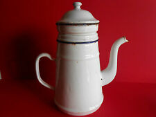 CAFETIERE TOLE EMAILLEE / COFFEE POT ENEMALLED