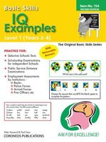 IQ Examples Level 1 Yrs 3 to 4