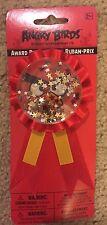 Angry Birds Award Ribbon Birthday Party Supply Favors NIP