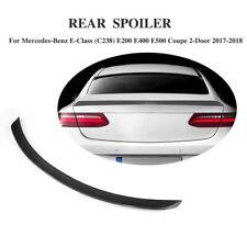 für Mercedes E-Klasse C238 Coupe Spoiler Carbon Heckspoiler Abrisskante Lippe