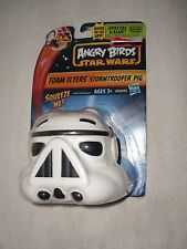 (NEW) HASBRO: ANGRY BIRDS STAR WARS FOAM FLYERS (STORM TROOPER PIG)