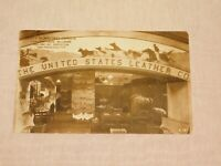 VINTAGE OLD POSTCARD THE UNITED STATES LEATHER CO 1915 SAN FRANCISCO EXPO