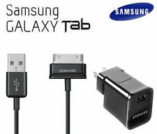 OEM Genuine Samsung Galaxy Tab2 7.0 10.1 Data Sync USB Cable & USB Wall charger