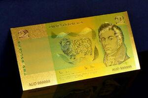 "★★ AUSTRALIE / AUSTRALIA : BILLET POLYMER  "" OR "" DU 2 DOLLARS (type 1980)  ★★"