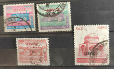 Pakistan 1979, Officials 4 stamps USED