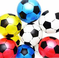 6-12 Inflatable Football Sports Training Soccer Beach Ball Children Kids Toy