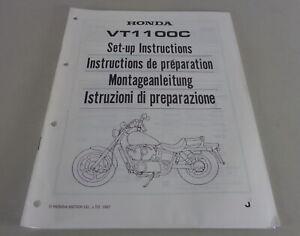 Instrucciones de Montaje / Kit Up Manual Honda VT 1100C Stand 1987