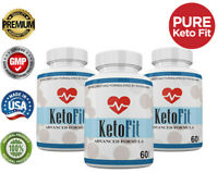 Keto Fit Advanced Formula - Ketosis Weight Loss Support - 3  Month Supply