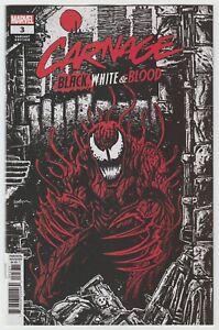 Carnage Black White Blood (2021) #3 - Eastman 1:25 Variant - Marvel