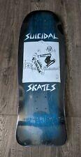 Suicidal Tendencies Skateboard Old School Skate Rare Blue Reissue