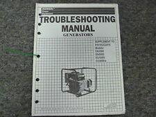 Honda EN3500 EN5000 EU1000i EU3000is Generator Service Troubleshooting Manual