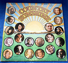 COUNTRY SUNSHINE- 1974 -  LP - 20 ARTISTS
