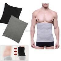 Men Diet Slim Belt Waist Tummy Exercise Fit Gym Compression Body Shapewear Band