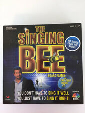 The Singing Bee Board Game with Music CD Very Good Condition