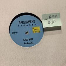 Funkadelic Knee Deep Parliament Records VG(+) Bootleg Should Play VG+