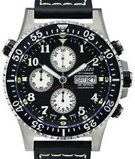 Xezo Air Commando Diver Pilot Swiss Automatic Valjoux 7750 Chronograph watch
