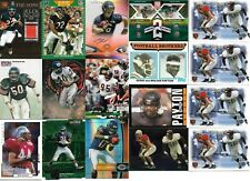 Lot of Chicago Bears football cards - 90 different - 124 total - 1982-2016