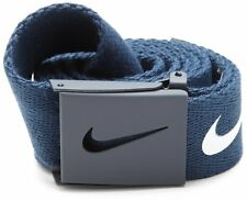 NIKE WEB Tech Essentials Golf Belt - College Navy