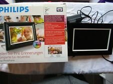 """PHILIPS PHOTO FRAME 7"""" LCD 7FF3FPB very light use"""