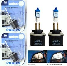 Philips Crystal Vision Ultra 893 H27 37.5W Two Bulbs Fog Light Replace Upgrade