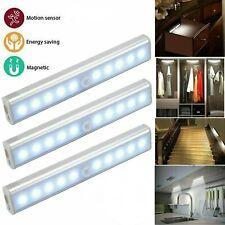 LED PIR Motion Sensor Light Cupboard Wardrobe Bed Car Lamp LED Night Light For