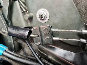 Opel astra bertone roof locking mechanism - steel rope end - repair kit .