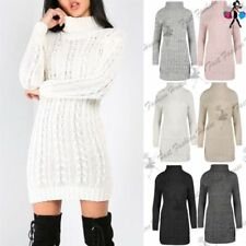 Unbranded Winter Dresses for Women with Cable Knit