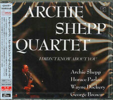 ARCHIE SHEPP-I DIDN' T KNOW ABOUT YOU-JAPAN CD Ltd/Ed B63