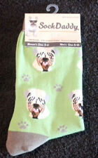 Soft Coated Wheaten Terrier Dog Breed Lightweight Stretch Cotton Adult Socks