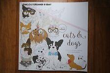 Kaisercraft Kaisercolour CATS & DOGS 25X25CM colour coloring book CL539 NEW