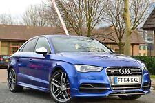 2014 Audi S3 2.0 TFSI S Tronic Quattro BLUE WINGBACK SEATS SALOON *MEGA EXTRAS*