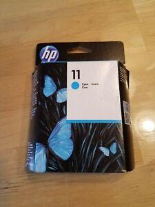 Orginal HP Ink Cartridge #11 Cyan NIB Install Date Of 10/2015