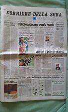 CORRIERE DELLA SERA ATENE 2004 21 AGOSTO MONTAN CHECHI BRUGNETTI CASSINA VEZZALI