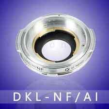yeenon Voigtlander Schneider Retina DKL Deckel Lens To NIKON AI mount Adapter
